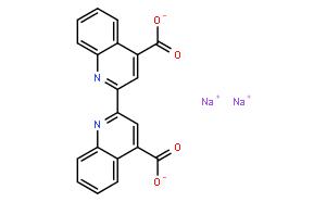 2,2'-联喹啉-4,4'-二甲酸二钠 水合物