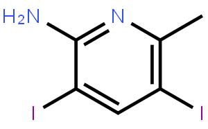 2-氨基-3,5-二碘-6-甲基吡啶
