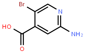 2-氨基-5-溴吡啶-4-羧酸
