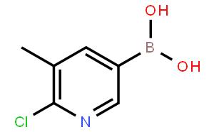 6-氯-5-甲基吡啶-3-硼酸
