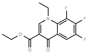 1-乙基-6,7,8-三氟-1,4-二氢-4-氧-3-喹啉羧酸乙酯