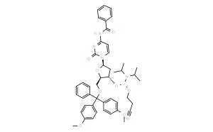 DMT-dC(bz)亚磷酰胺单体