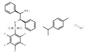 氯{[(1R,2R)-(-)-2-氨基-1,2-二苯基乙基](五氟苯磺酰)氨基}(对伞花烃)钌(II