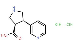 (±)-trans-4-(3-Pyridyl)pyrrolidine-3-carboxylic acid dihydrochloride
