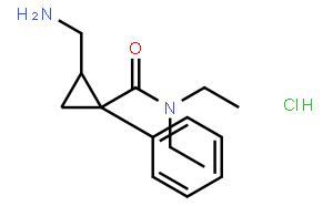 (E)-2-(氨基甲基)-N,N-二乙基-1-苯基环丙甲酰胺盐酸盐