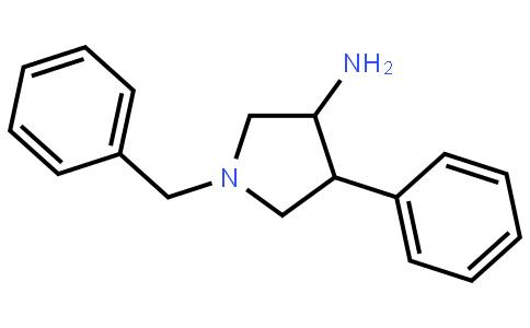 trans-1-benzyl-4-phenylpyrrolidin-3-aMine