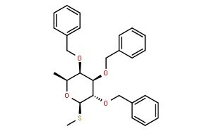 甲基-2,3,4-三-O-苄基-1-硫代-β-L-岩藻吡喃糖苷