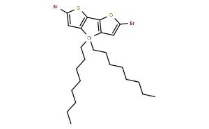 2,6-二溴-4,4-二正辛基二噻吩并[3,2-b:2',3'-d]噻咯