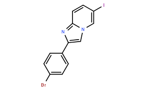 2-(4-Bromophenyl)-6-iodoimidazo[1,2-a]pyridine