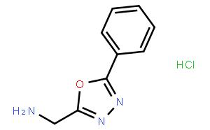 5-Phenyl-1,3,4-oxadiazole-2-methylamine hydrochloride