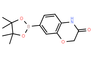 7-(4,4,5,5-Tetramethyl-1,3,2-dioxaborolan-2-yl)-2H-benzo[b][1,4]oxazin-3(4H)-one