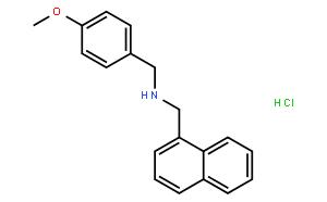 ml133 HCl  (4-甲氧基苄基)(1-萘基甲基)胺盐酸盐