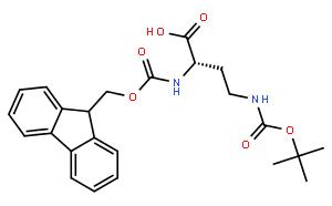 ( S )-4-(Boc-氨基)-2-(Fmoc-氨基)丁酸