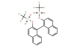 |S|-(+)-1,1'-二-2-萘酚双(三氟甲磺酸酯)