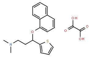 (S)-N,N-Dimethyl-3-(naphthalen-1-yloxy)-3-(thiophen-2-yl)propan-1-amine oxalate