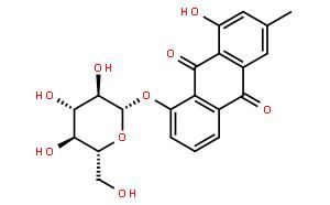 大黃酚-8-O-葡萄糖苷