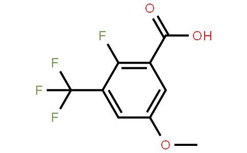 2-氟-5-甲氧基-3-(三氟甲基)苯甲酸