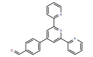 """4'-(4-甲酰基苯基)-2,2':6',2""""-三联吡啶"""
