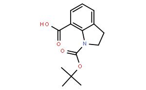 N-Boc-吲哚啉-7-羧酸