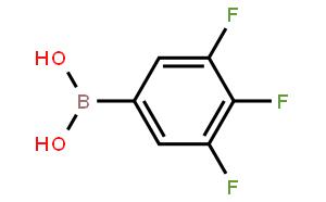 3,4,5-三氟苯硼酸(含有数量不等的酸酐)