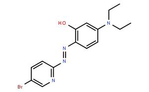 2-(5-溴-2-吡啶偶氮)-5-(二乙氨基)苯酚