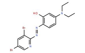 2-(3,5-二溴-2-吡啶偶氮)-5-二乙氨基酚