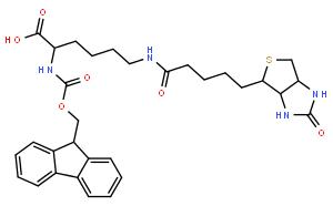 Fmoc-Lys(biotinyl)-OH