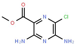 3,5-二氨基-6-氯吡嗪-2-甲酸甲酯