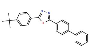 2-(4-联苯基)-5-(4-叔-丁基苯基)-1,3,4-噁二唑