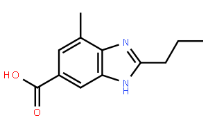 4-甲基-2-丙基-6-苯并咪唑羧酸