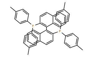 (±)-2,2'-二(二-对甲苯基膦)-1,1'-联萘