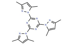 1,3,5-Triazine, 2,4,6-tris(3,5-dimethyl-1H-pyrazol-1-yl)-