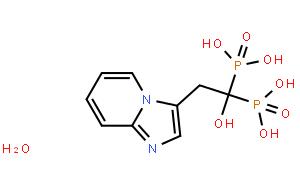 (1-Hydroxy-2-(imidazo[1,2-a]pyridin-3-yl)ethane-1,1-diyl)diphosphonic acid hydrate