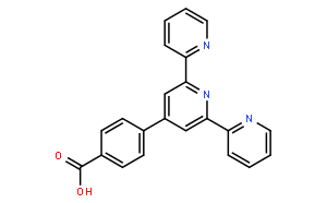 """4'-(4-羧基苯基)-2,2':6',2""""-三联吡啶"""