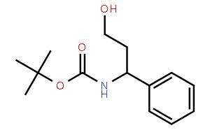 (R)-N-叔丁氧羰基-3-氨基-3-苯基丙-1-醇