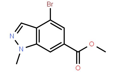 1-甲基-4-溴吲唑-6-甲酸甲酯