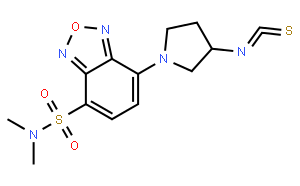 (S)-(+)-DBD-Py-NCS [=(S)-(+)-4-(N,N-二甲氨基磺酰基)-7-(3-异硫氰酸基四氢吡咯-1-基)-2,1,3-苯并恶二唑]