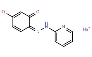 4-(2-吡啶偶氮)间苯二酚钠盐