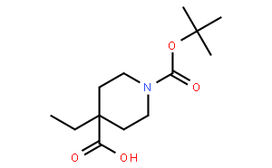 1-Boc-4-ethyl-4-piperidinecarboxylic Acid