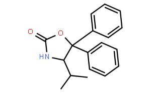 (4R)-(+)-4-Isopropyl-5,5-diphenyl-2-oxazolidinone  (4R)-(+)-异丙基-5,5-二苯基-2-恶唑烷酮