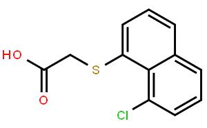 (8-氯-1-萘硫代)乙酸