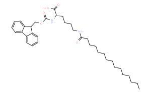 Fmoc-Lys(palmitoyl)-OH