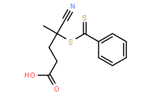 4-Cyano-4-((phenylcarbonothioyl)thio)pentanoic acid