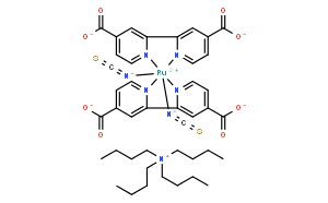 双(四丁基铵)二氢双(异硫氰酸)双(2,2'-二吡啶基-4,4'-二甲酸)钌(II)