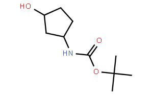 trans-tert-Butyl 3-hydroxycyclopentylcarbamate