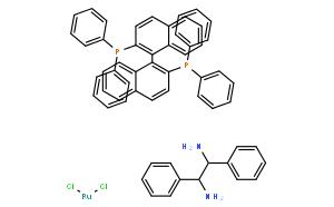 二氯[(|R|)-(+)-2,2'-二(二苯基膦)-1,1'-联萘基][(1|R|,2|R|)-(+)-1,2-二苯基乙二胺)钌(II)
