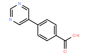 4-(Pyrimidin-5-yl)benzoic acid