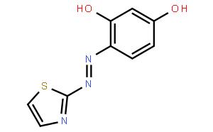 TAR [=4-(2-Thiazolylazo)resorcinol][Metal indicator and spectrophotometric reagent for transition metals] TAR[=4-(2-噻唑基偶氮)-1,3-苯二酚][过渡金属用金属指示剂和分光光度试剂]