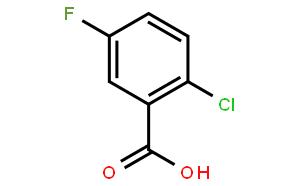 2-氯-5-氟苯甲酸
