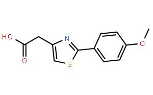 2-(4-Methoxyphenyl)thiazole-4-acetic acid